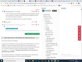 Plataforma de Ofimatica módulo de Administración Y Finanzas utilizado para exámenes ONLNE