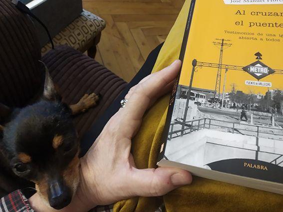 Bony mascota de Charo Gómez Haces Directora de la Escuela Europea